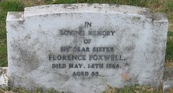 Florence Jane <i>Jones</i> Foxwell