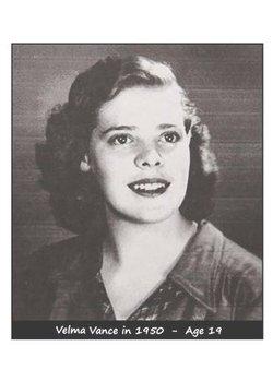 Velma Olivia <i>Vance</i> Pratt