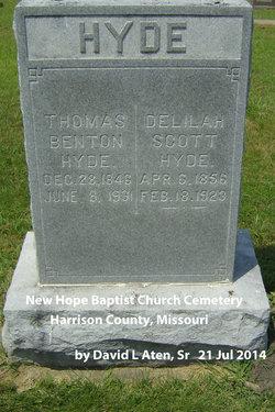 Delilah <i>Scott</i> Hyde