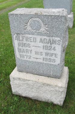 Mary E <i>Berger</i> Adams