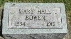 Mary Anne <i>Hall</i> Bowen