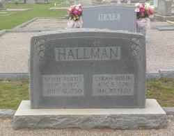 Noah Rufus Hallman