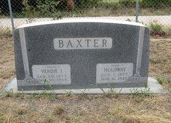 Verdie I <i>High</i> Baxter
