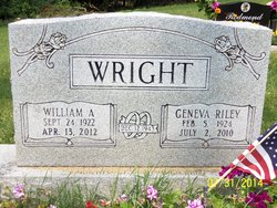 William A Wright, Jr