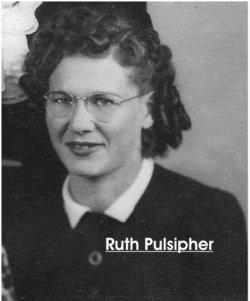 Mrs Ruth Alerta <i>Pulsipher</i> Lewis