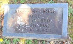 Josephine Josie <i>McElroy</i> Bone
