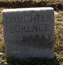 Florence <i>Lasley</i> Barry
