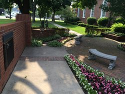 Christ Episcopal Church Memorial Rose Garden