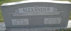Troy E Alexander