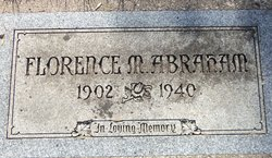 Margaret Florence <i>Satter</i> Abraham