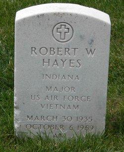 Maj Robert W Hayes