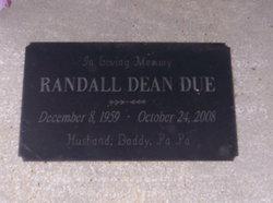 Randall Dean Due
