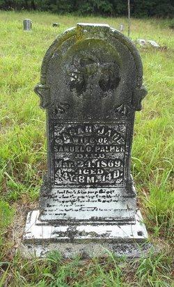Sarah Jane <i>Lashley</i> Palmer