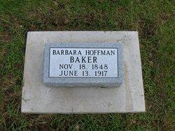 Barbara <i>Hoffmann</i> Baker