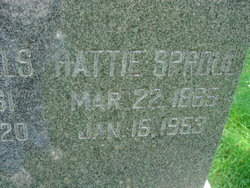 Hattie A <i>Smith</i> Sproul