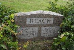 Mary A <i>Tucker</i> Beach