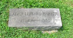 Adah R <i>Leffard</i> Harper