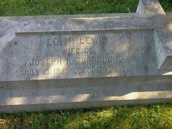 Edith <i>Lewis</i> Burroughs