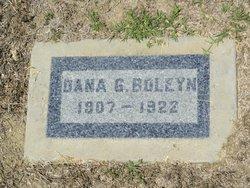 Dana G Boleyn