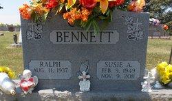 Susie Ann <i>Jaggers</i> Bennett