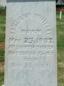 Jane Ann <i>Ross</i> Whiteley