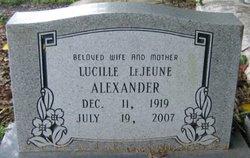 Lucille Touchet <i>Lejeune</i> Alexander