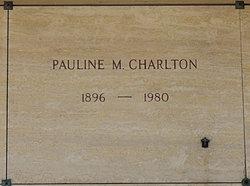 Pauline Maria <i>Cicerone</i> Charlton