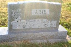 Frances Marion Clementine <i>Eggleston</i> Arie