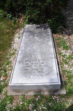 Rev William H. Daniels