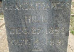 Amanda Frances <i>Goodall</i> Hill