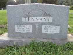 Richard E Tennant