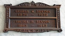 Louisa May <i>Carpenter</i> Benton
