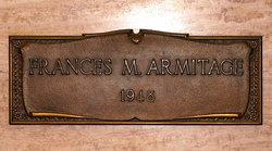Frances May Fannie <i>Monasmith</i> Armitage