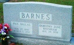 Paul Dallas Barnes