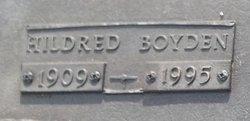 Hildred <i>Boyden</i> Carpenter