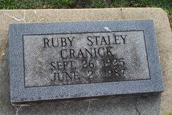 Ruby <i>Staley</i> Cranick