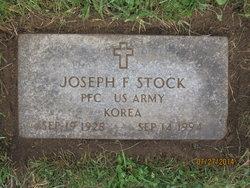 Pvt Joseph Frederick Joe Stock, Sr