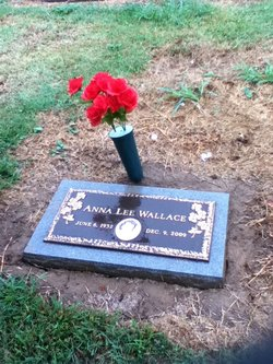 Anna Lee <i>Gober</i> Wallace