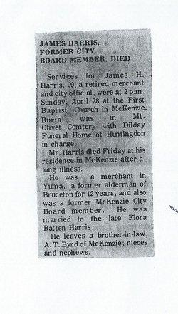 James H. Jim Harris