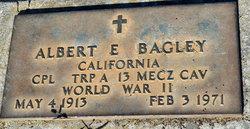 Albert E Bagley