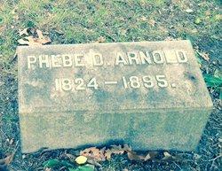 Phebe <i>Dudley</i> Arnold