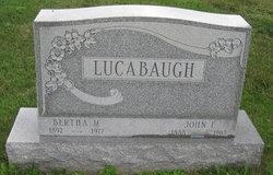 Bertha Mamie <i>Brenneman</i> Lucabaugh
