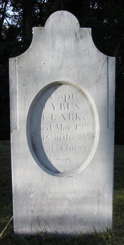 Capt Cyrus Clark