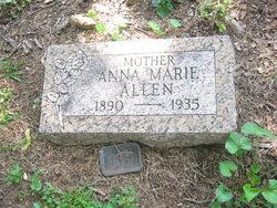Anna M <i>Roess</i> Allen