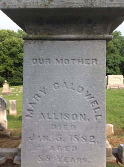 Mary <i>Caldwell</i> Allison