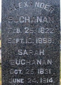 Sarah <i>Wise</i> Buchanan