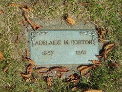 Adelaide M Horton
