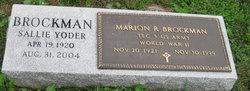 Marion Robert Brockman