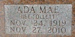 Ada Mae <i>Follett</i> Congdon