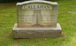 Alfred Baxter A.B. Jr Callahan